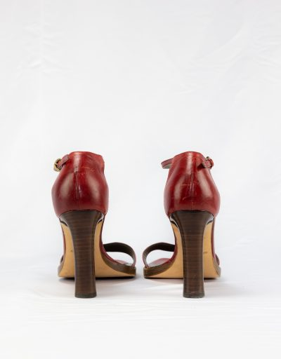 Sandalo in pelle Miu Miu 3